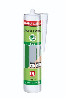 Ny akrylfuge kompletterer Dana Lims sortiment for Svanemerket renovering