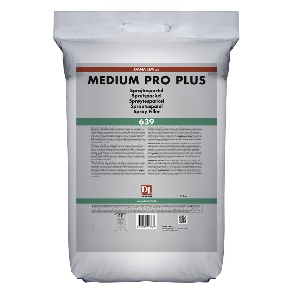 Sprøjtespartel Medium Pro Plus 639