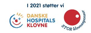 vi støtter Danske hospitals klovne 2020