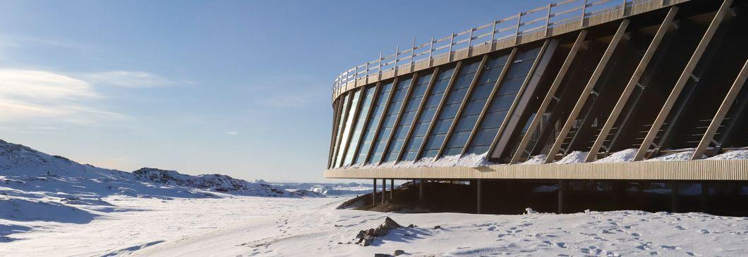 Ilulissat Isfjordscenter i Grønland gør klar til åbning
