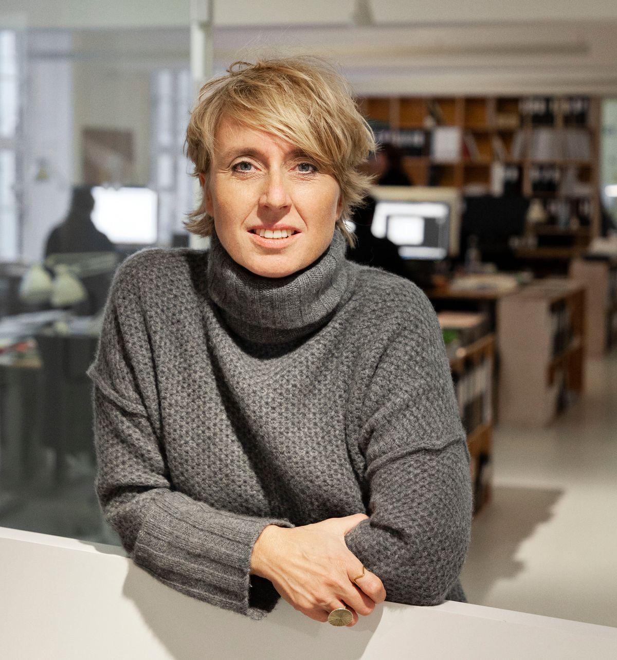 Portræt af Susanne Hansen fra Rubow Arkitekter