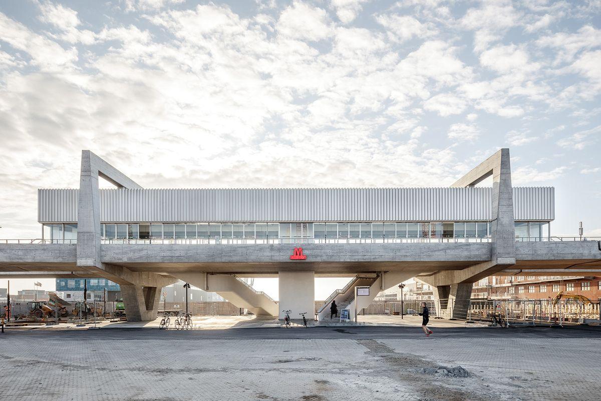 Metrolinje M4 - Nordhavns nye vartegn