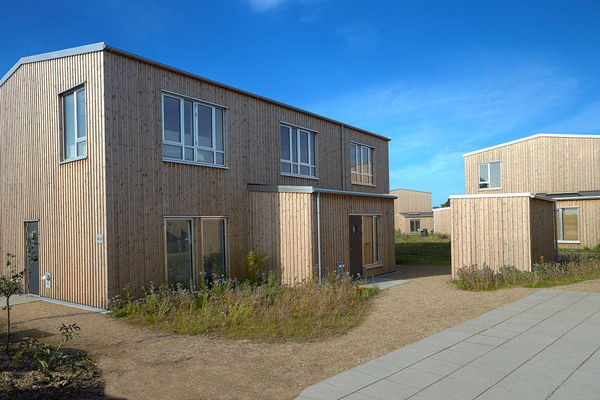 EcoVillage-husene har Svanemærket træbeklædning fra Södra