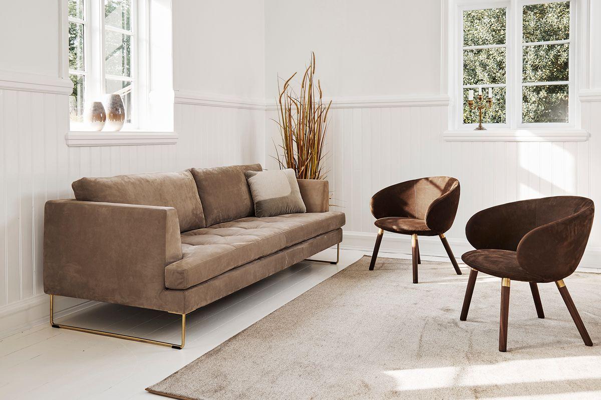 Ny stol fra Nielaus og Hee Welling: Stramt udtryk og god siddekomfort