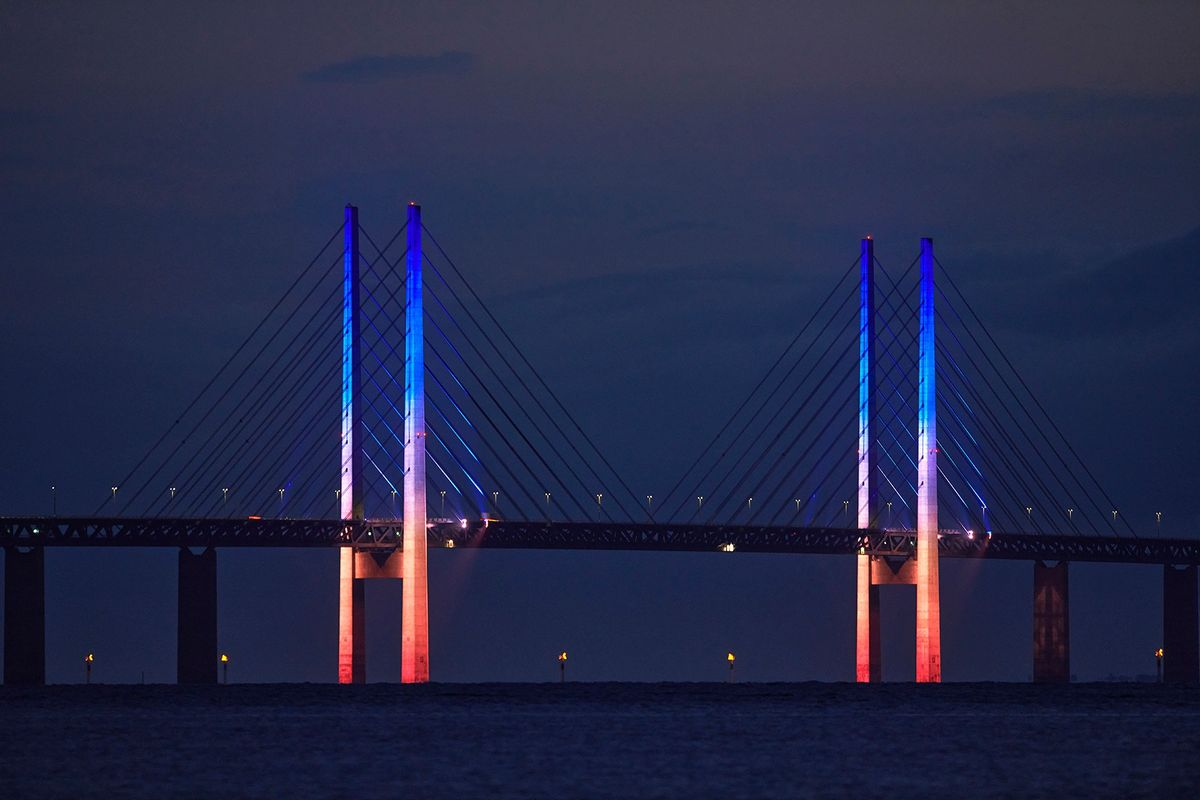 Øresundsbroen får ny energieffektiv og dynamisk belysning