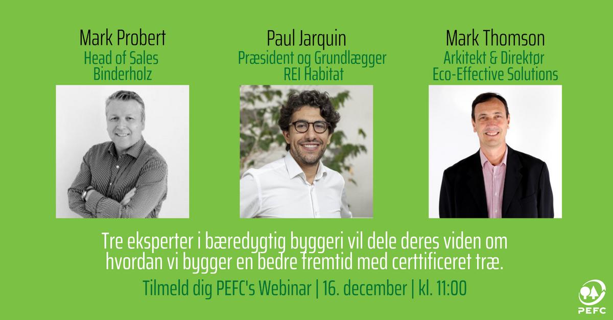 Nyt PEFC Webinar: Byg en bedre fremtid med certificeret træ