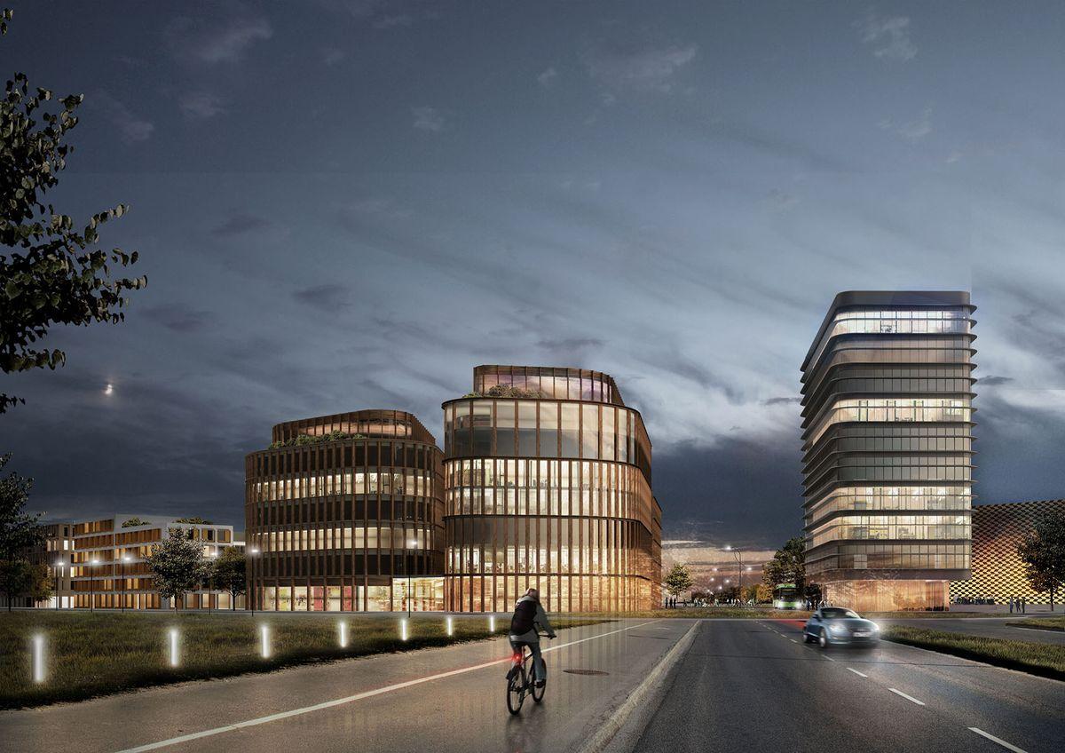 C.F. Møller Architects udvikler nyt kontorområde i Uppsala