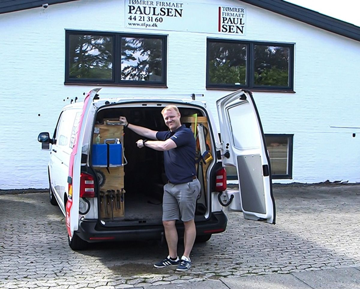 Slut med beskidte fingre: Dansk firma opfinder transportabel vask