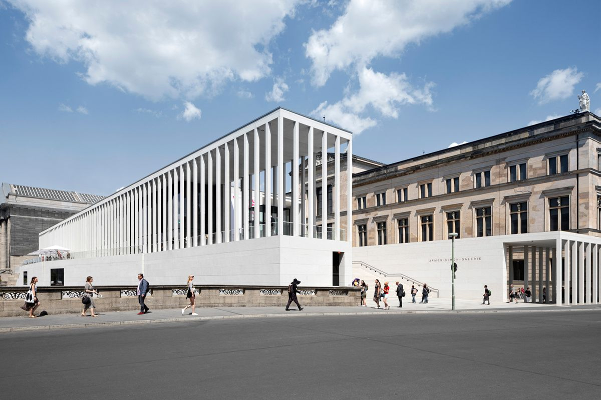 Berlins Museumsinsel får ny velkomstbygning af David Chipperfield