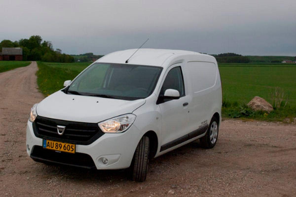 Varevognstest: En lille perle fra Dacia