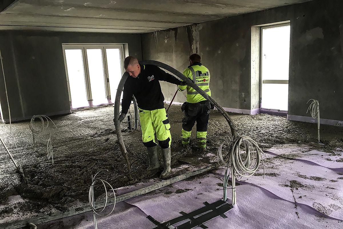 Nordisk Beton: Thermozell nu som selvudtørrende beton