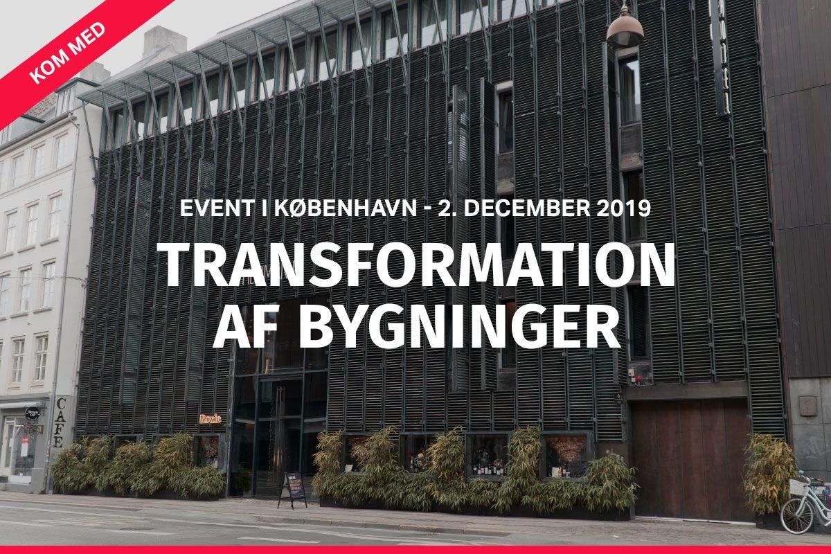 Invitation til event om transformation – d. 2. december i København