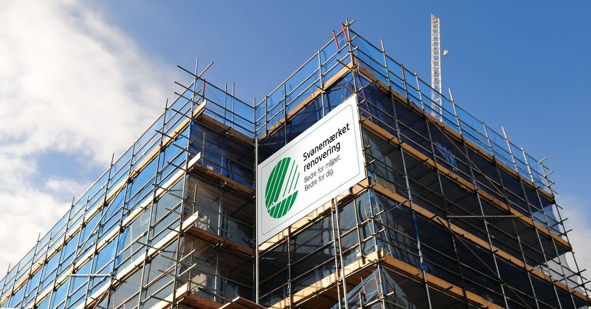 Svanemærket – et stærkt redskab til grøn renovering