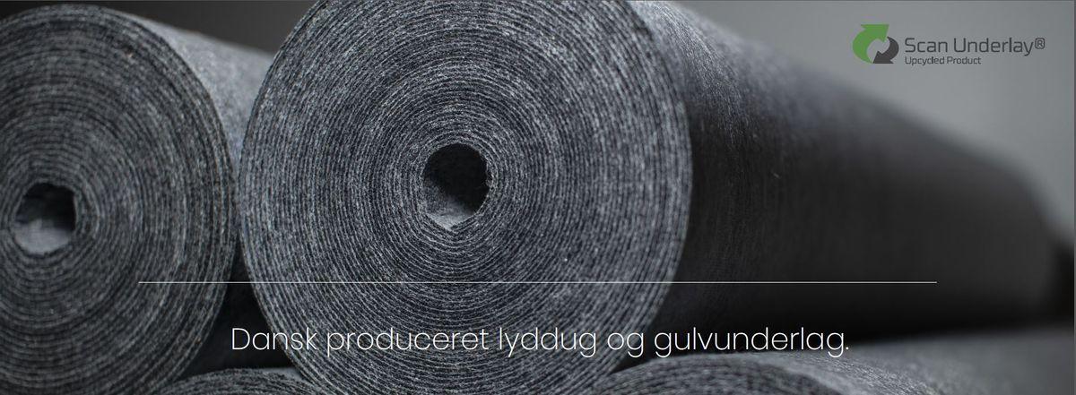 Dansk produceret trinlydsdug med dokumenteret bæredygtighed