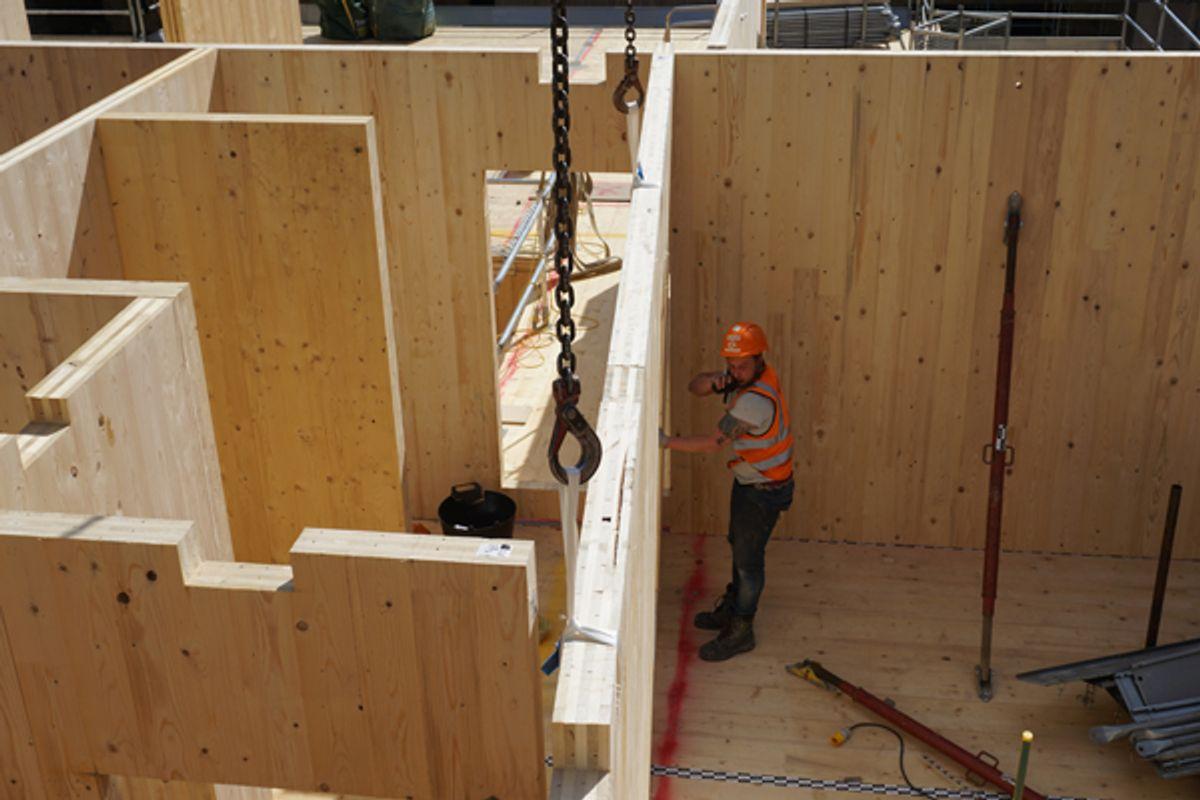 Træinformation: Træ er i gang med at revolutionere byggebranchen