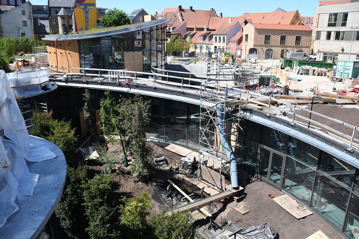 9.000 m2 stor urban greening midt i Odense