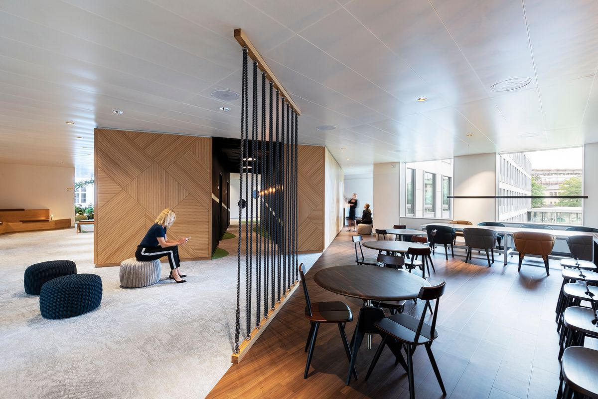 PLH Arkitekter designer nyt innovationsområde på Mærsks hovedkontor
