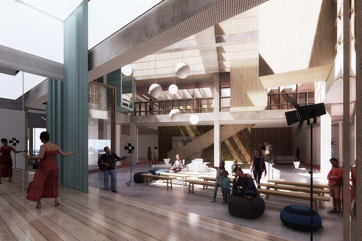 Christensen & Co og Next Architects vinder ny uddannelsesbygning