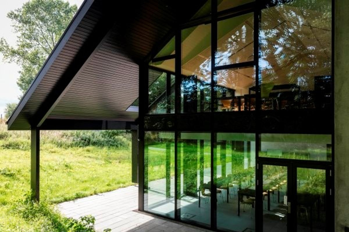 Arkitema: Naturen trækkes indenfor i Jagtens Hus