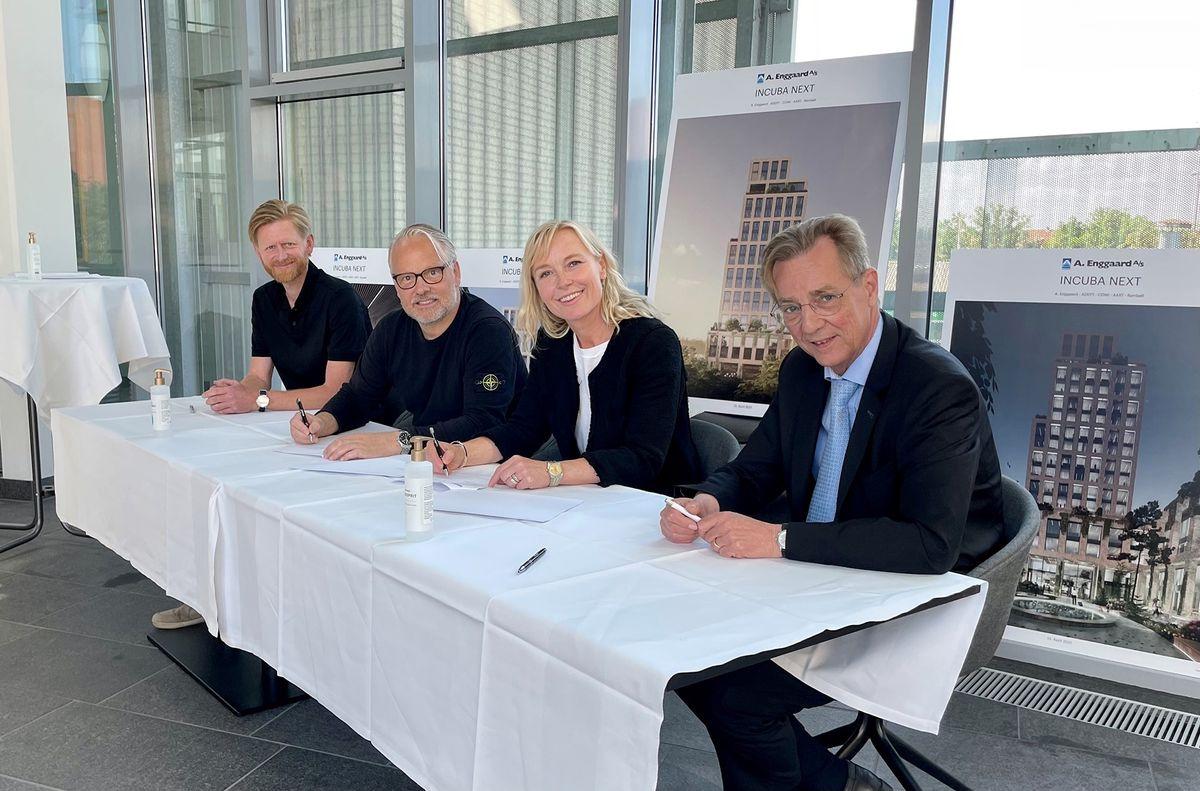 A. Enggaard indgår aftale om opførelsen af innovationsmiljø i it-byen