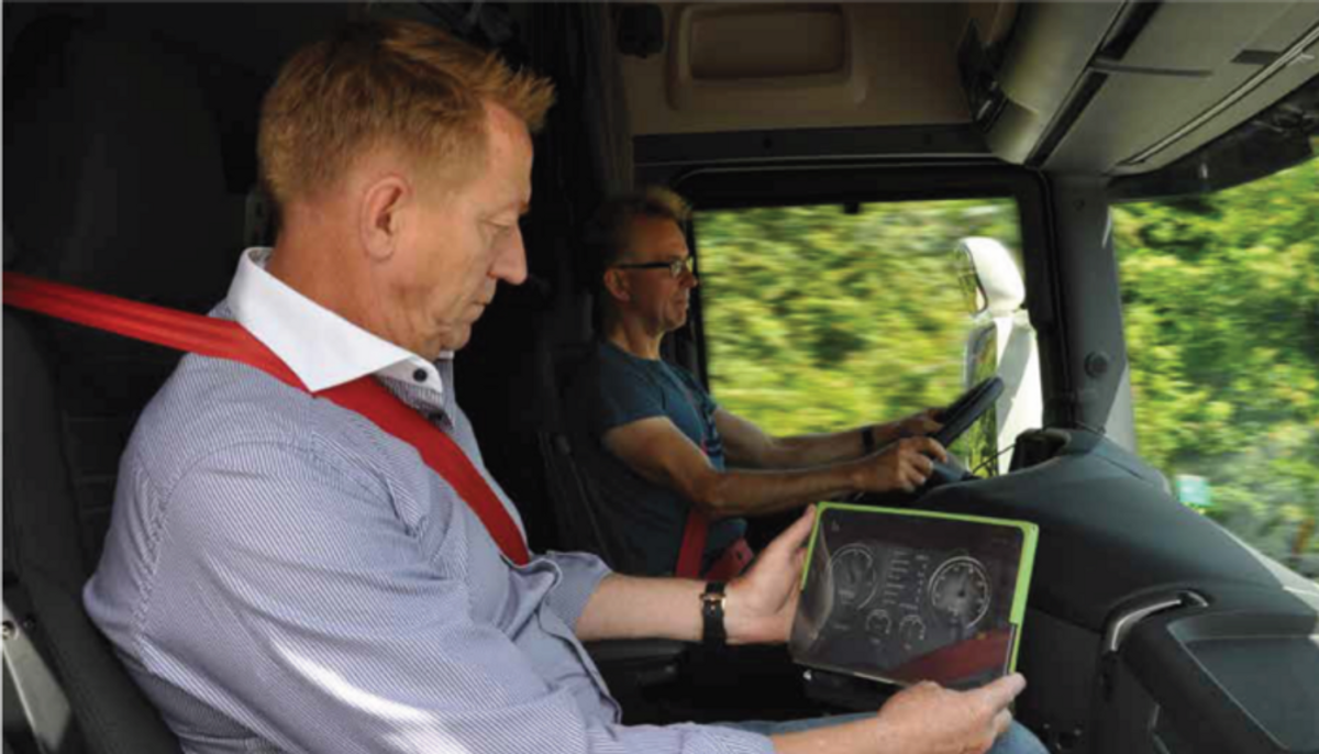 Scania Danmark: Store fordele ved afslappet kørsel