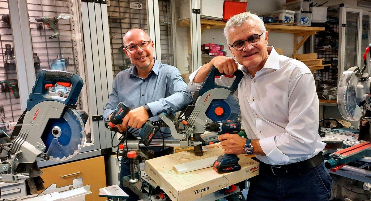 Bosch og NetHire indgår samarbejde om materieludlejning
