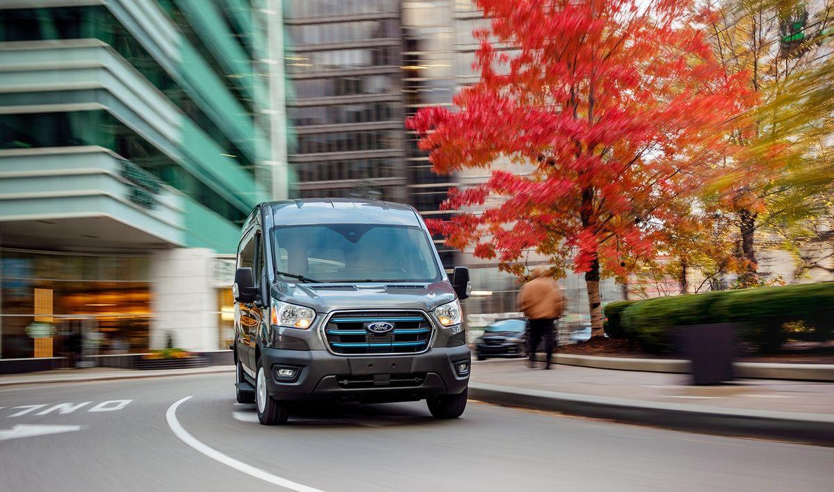 Ny Ford E-Transit præsenteret – men du skal være tålmodig