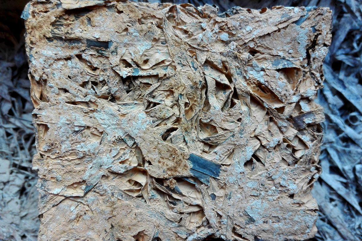Stort potentiale i akustikplader af lerjord og ålegræs
