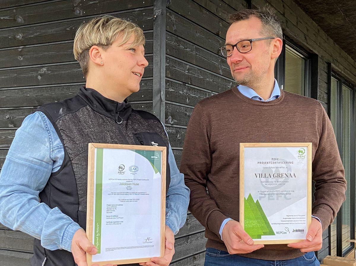 Danmarks første DGNB-certificerede villa – med platin udmærkelse