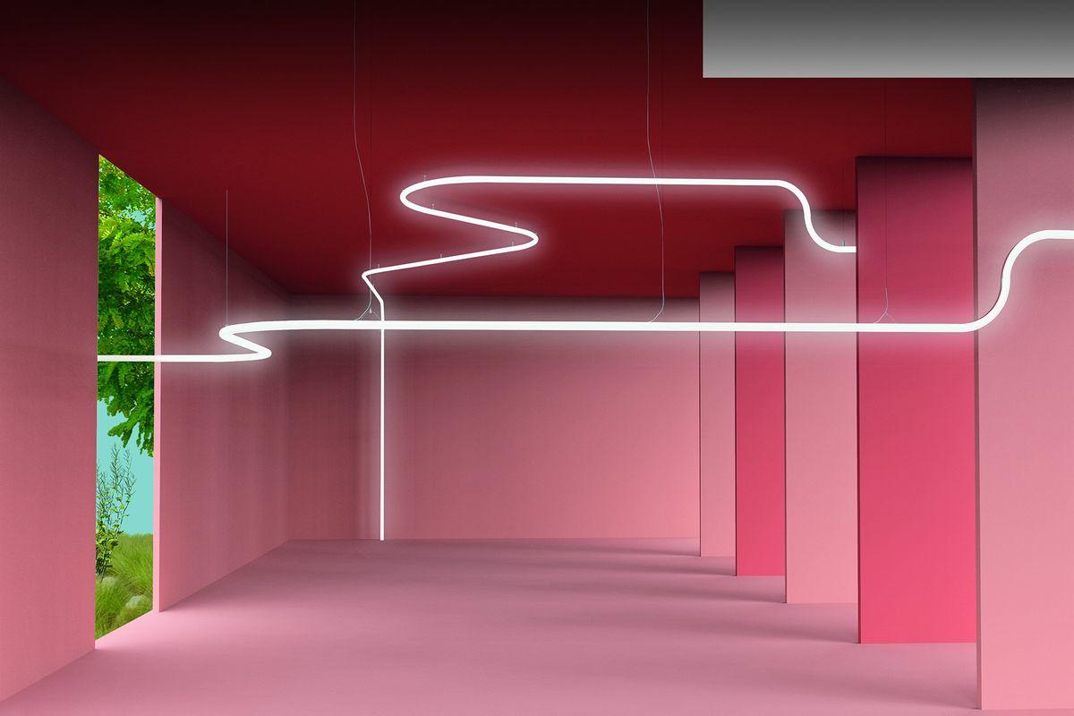Artemide har skabt et sprog med lyset som udtryksform