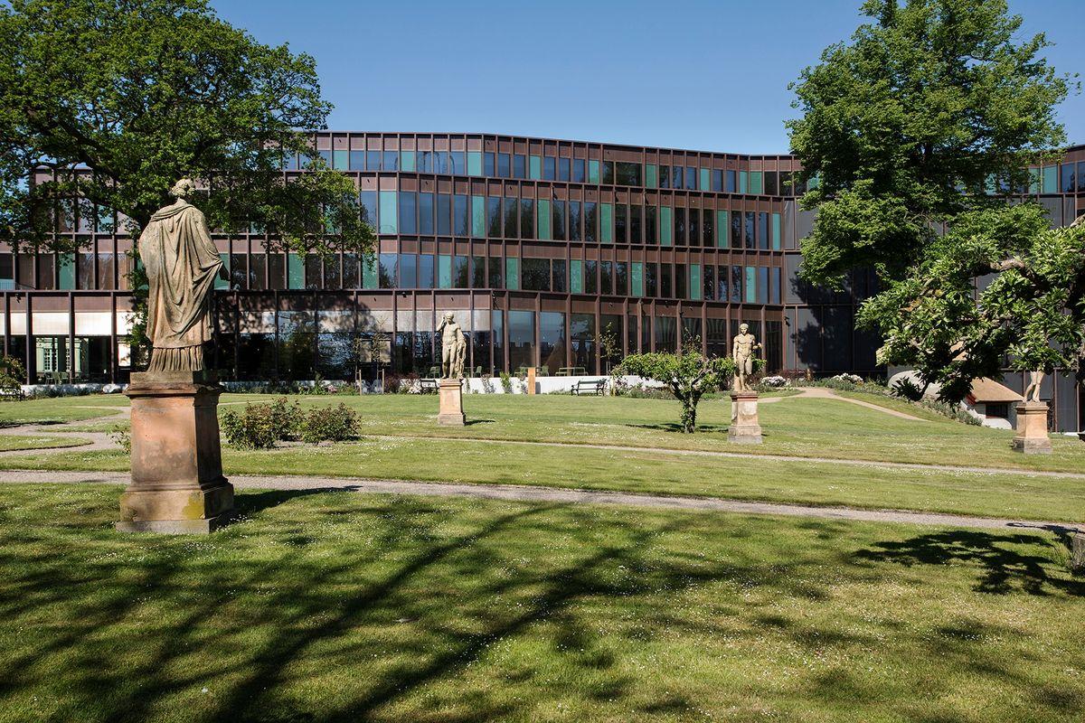 Carlsbergs domicil – i øjenhøjde med byen og historien