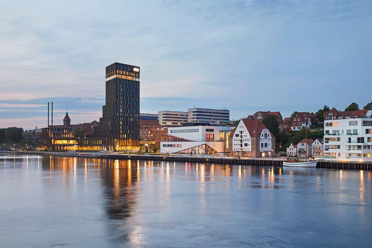 Louis Becker fra Henning Larsen om nyt hotel som vartegn for Sønderborg