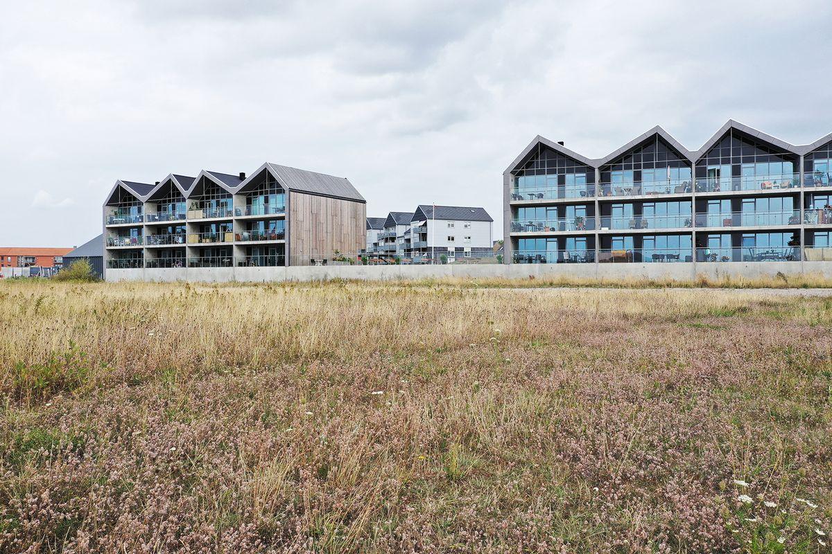 65 nye boliger fra SKALA Arkitekter er på vej på Nyborg Havn