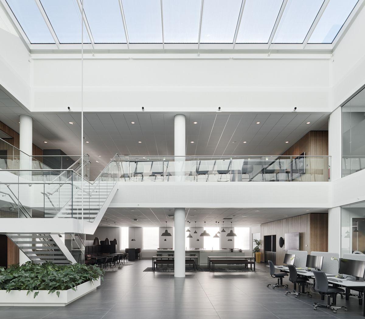 Innovation Campus af Vilhelm Lauritzen: Globalt videnscenter i naturpark