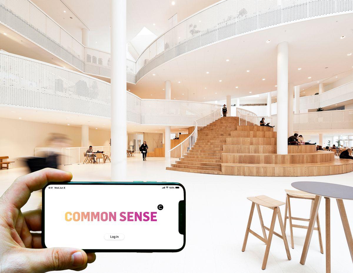 Tavse bygninger får en stemme med Common Sense-software fra CEBRA