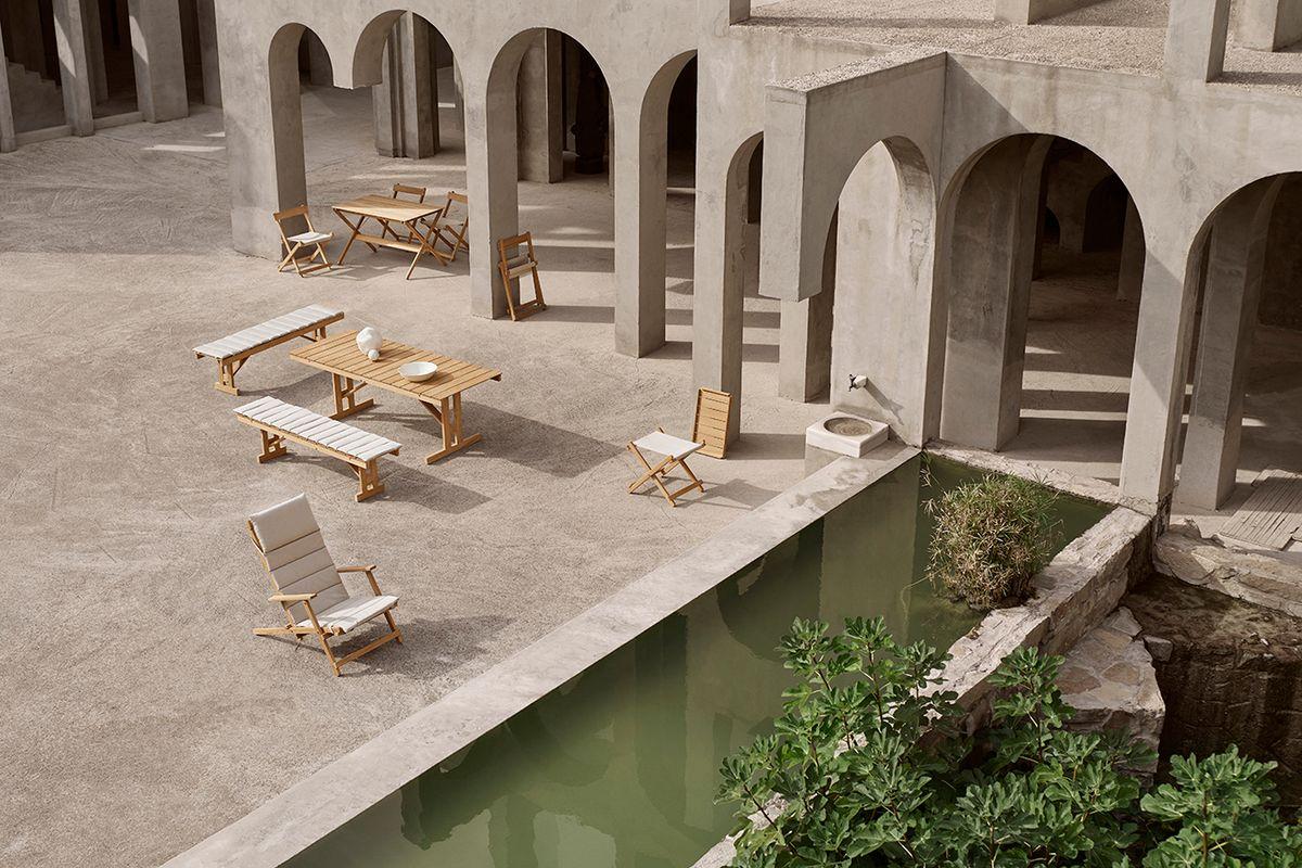 Carl Hansen & Søns dækstolsserie: Designet til Børge Mogensens balkon