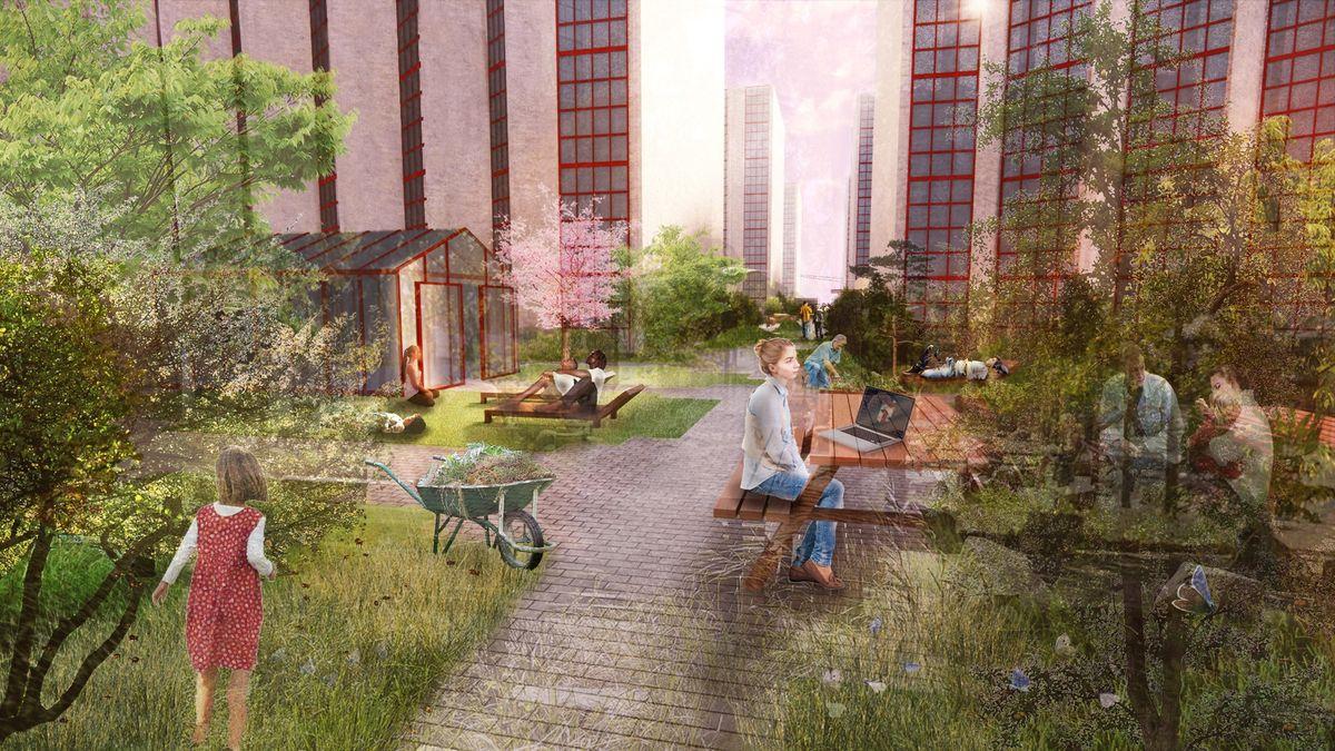 The SocialSpine: SLA designer Øresundskollegiet ikoniske tagterrasse