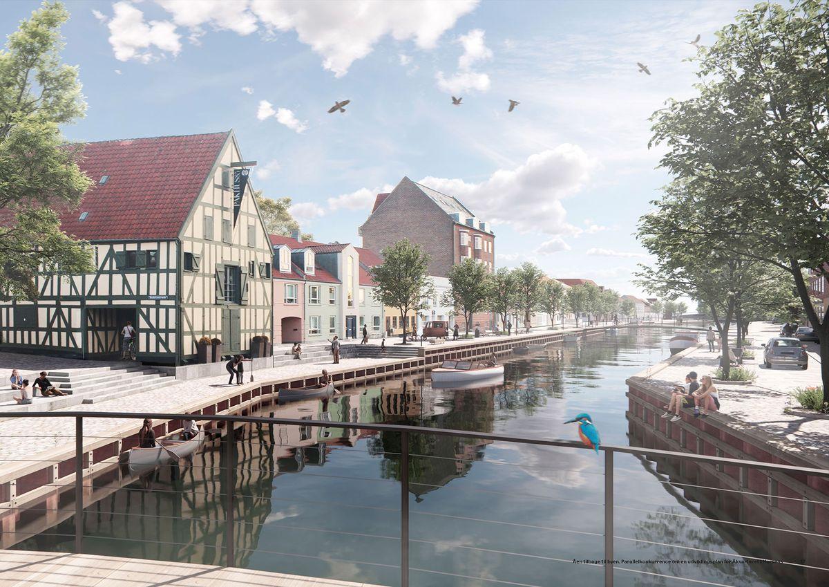Team Vandkunsten vinder udviklingsplan for Åkvarteret i Horsens