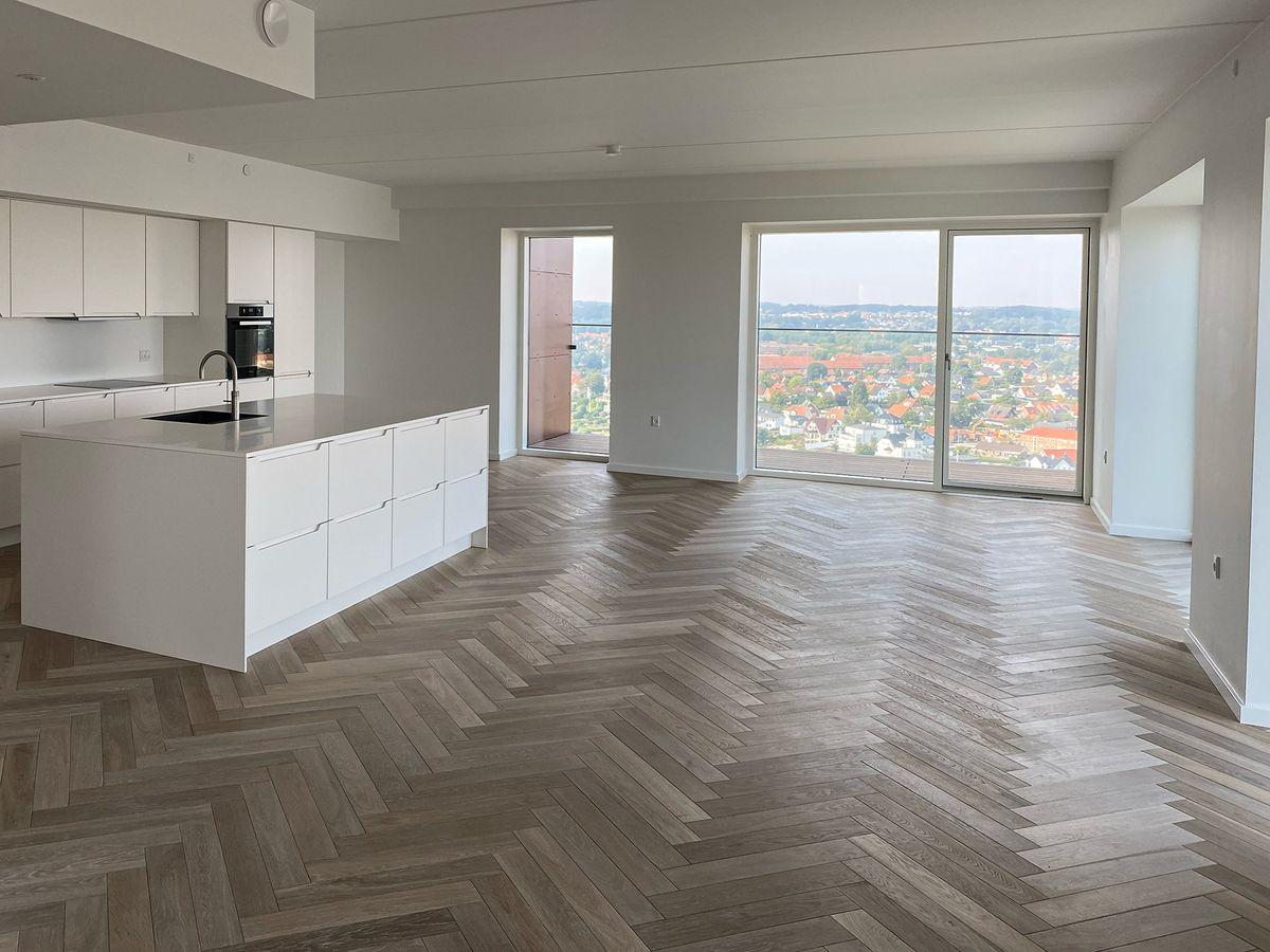 Kopenhagen Floors leverer bæredygtige trægulve til Papirtårnet