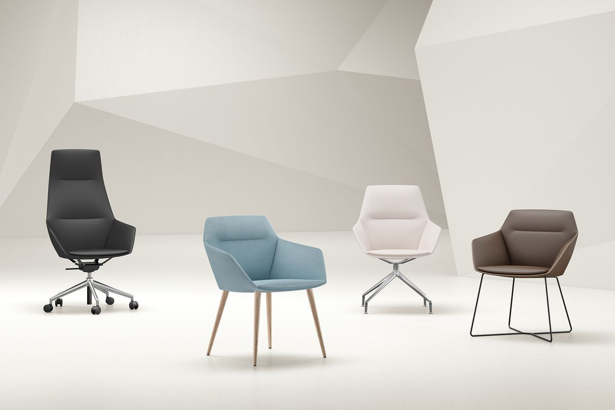 ray soft: Elegant og komfortabelt stol, designet af Jehs+Laub