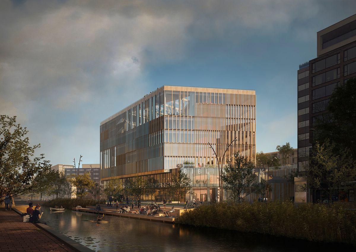 Schmidt Hammer Lassen skal designe ny regionsbygning i Holland