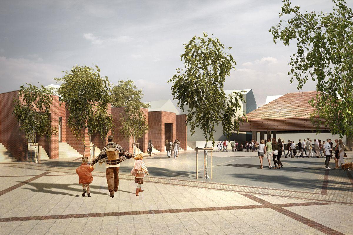 JAJA Architects skal designe overdækket byrum i Aars