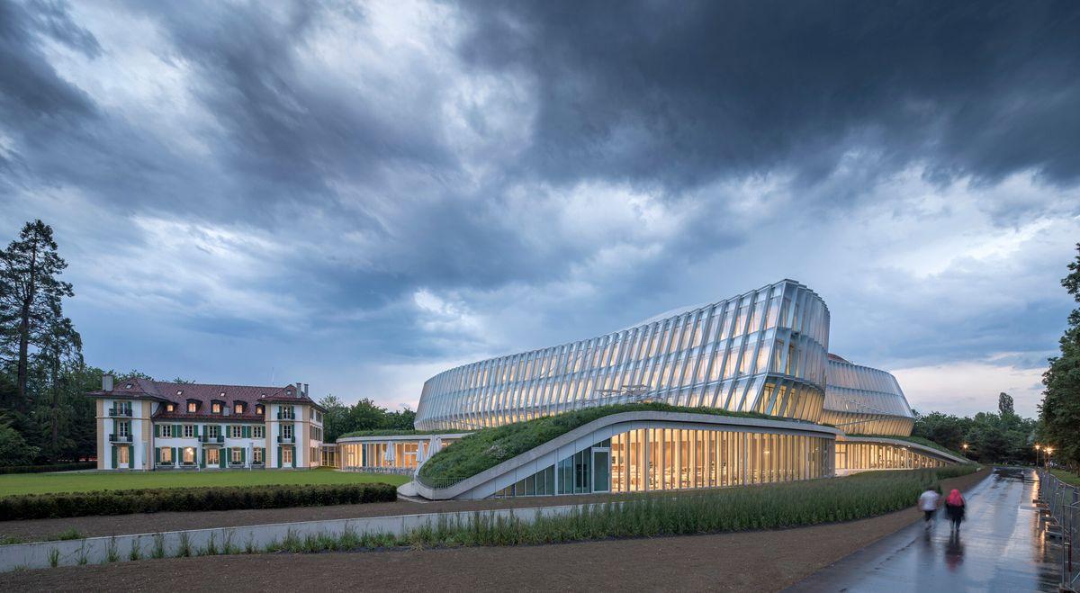 IOC åbner nyt bæredygtigt hovedsæde i Lausanne designet af 3XN