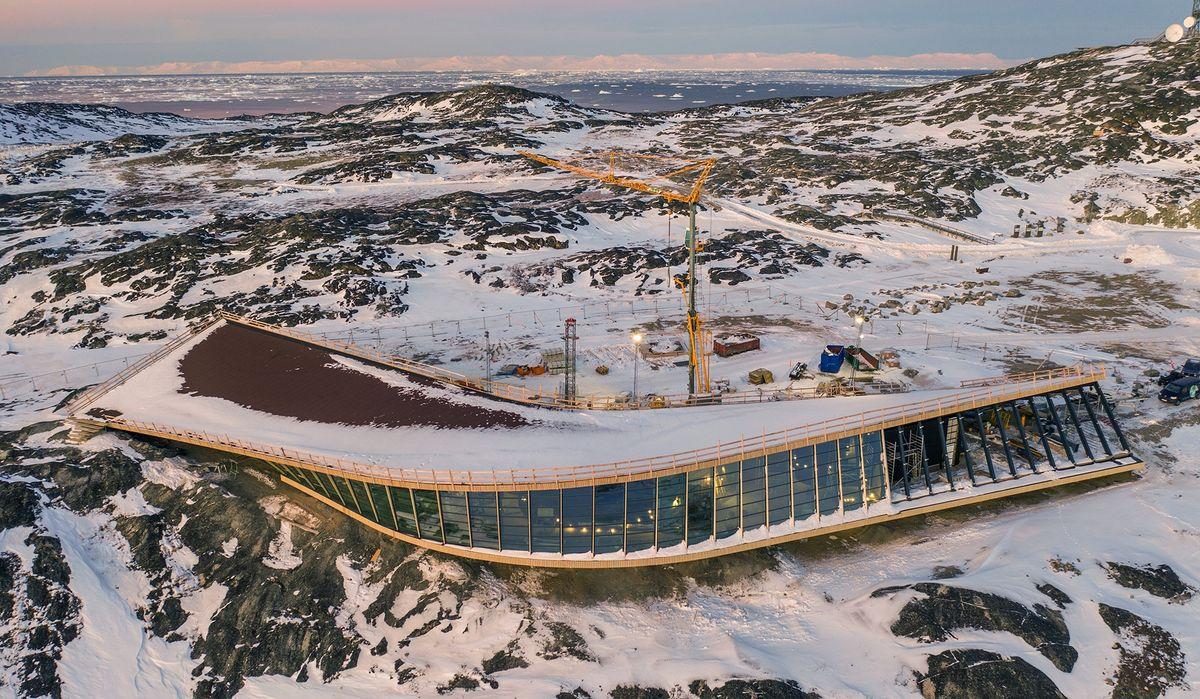 Entreprenør på arktisk formidlingscenter: Ikke to komponenter er ens