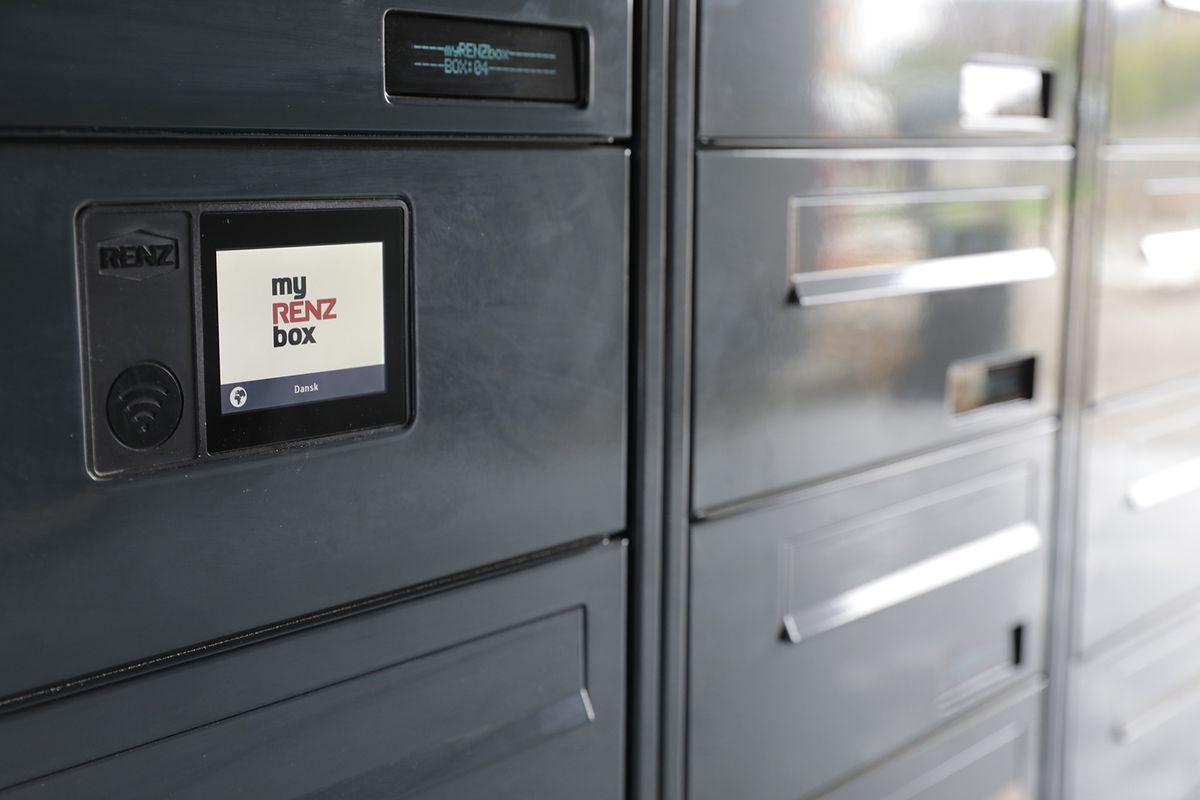 Ungdomsboliger vælger både digitale og analoge postkasseanlæg fra Renz