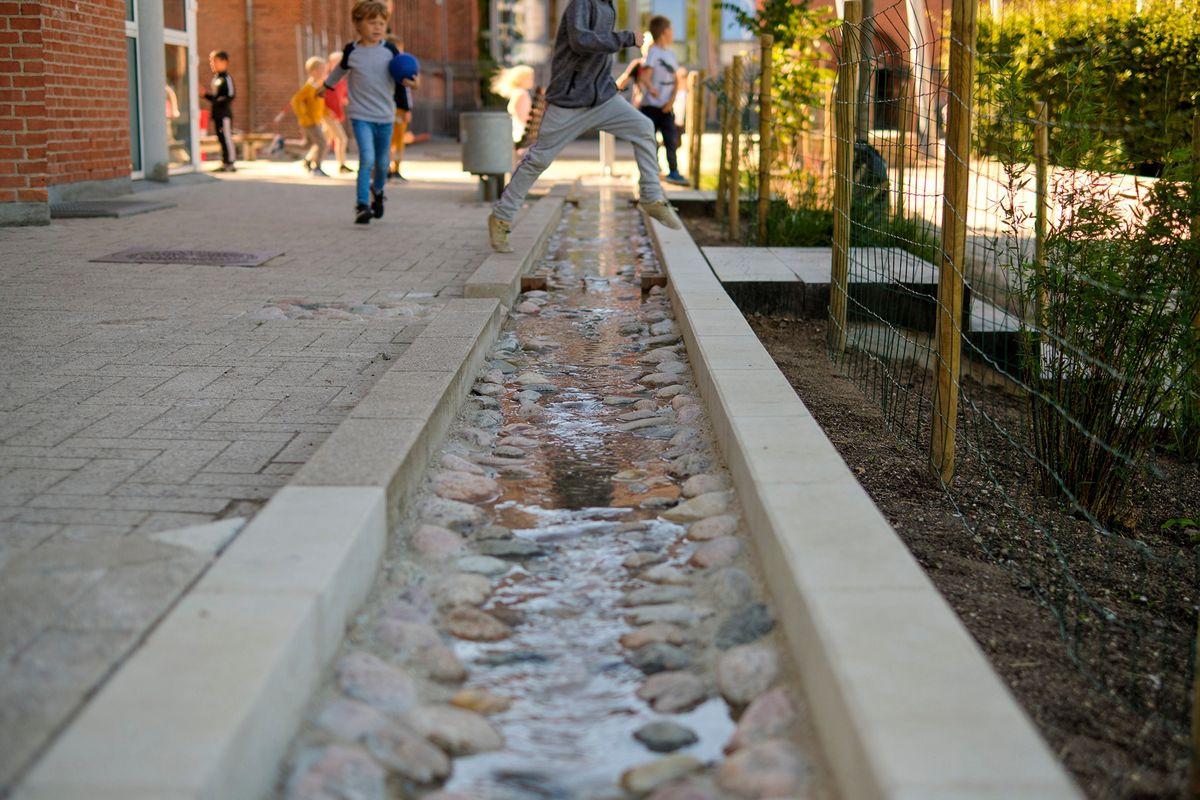 Bæredygtige klimaløsninger kræver lokal afledning af regnvand