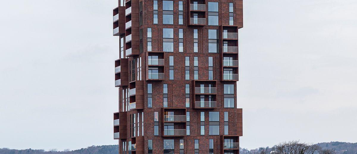 Papirtårnet: Et nyt pejlemærke i byens røde tegl