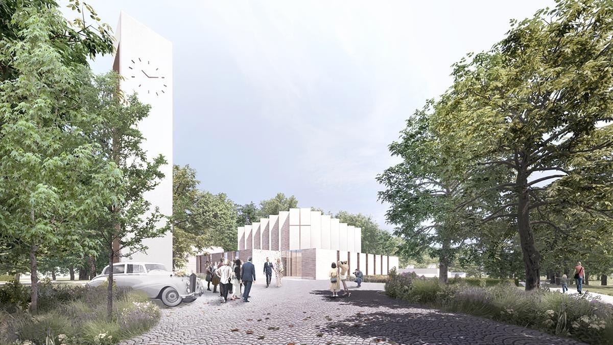 Henning Larsen vinder konkurrence om ny kirke i Skanderborg