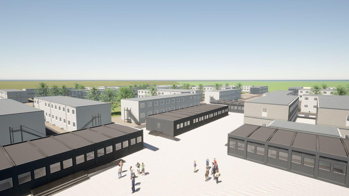 Adapteo leverer 30.000 m2 modulære bygninger til Femern