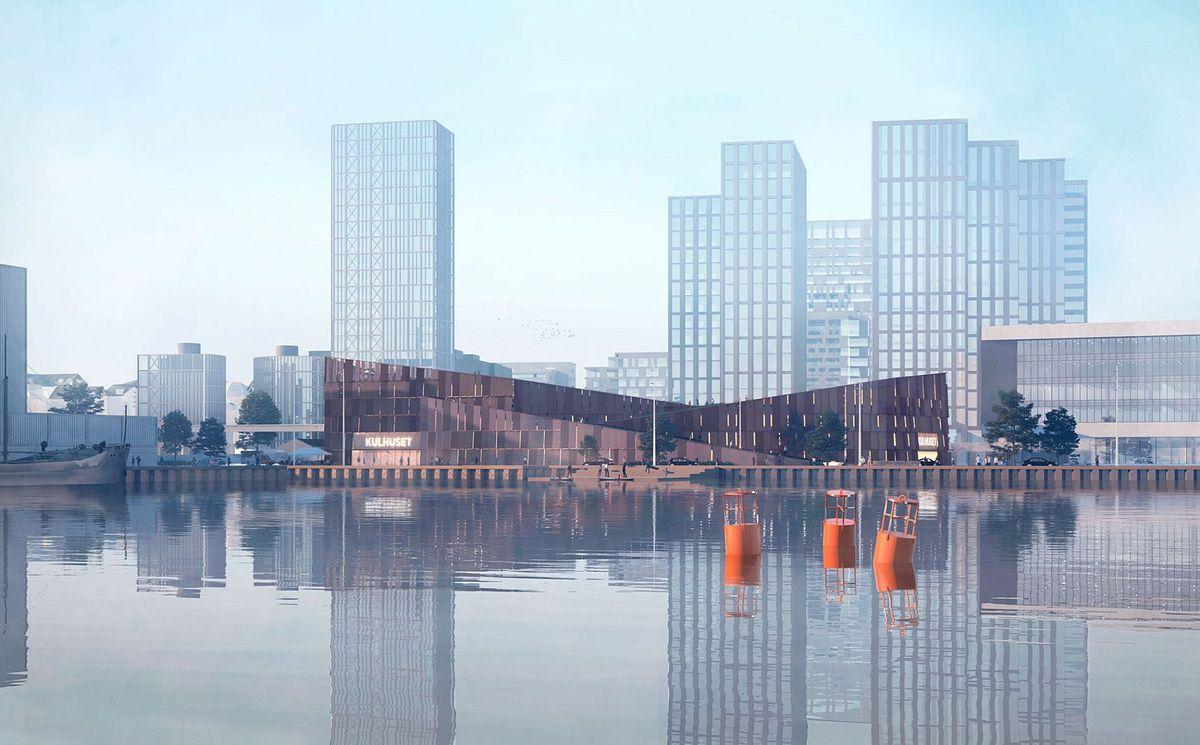 C.F. Møller Architects og Nordland Arkitekter vinder nyt parkeringshus